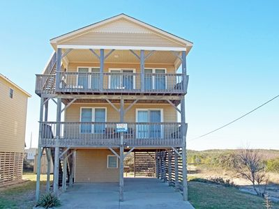 Photo for SEMI-OCEANFRONT, 4 BRs, 2 Living Areas, Crow's Nest and Beautiful Views!