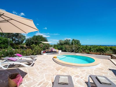 Photo for Portocolom Villa, Sleeps 5 with Pool, Air Con and WiFi