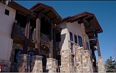 Photo for DRAMATIC 6 BED 5 BATH 8000 SF MOUNTAIN LODGE  PARK CITY  HUGE DISCOUNT