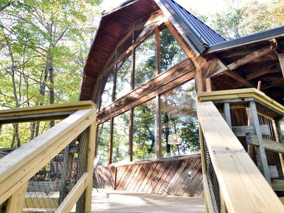 Photo for 3 bedroom, 2 bath cabin centrally located in the Smokey Mountains