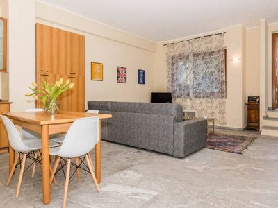Photo for Spacious Como Pool & Lake apartment in Riva with WiFi, air conditioning, private parking, shared ga…