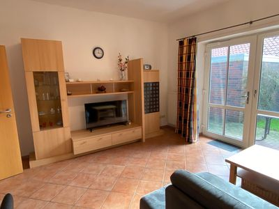 Photo for This bright holiday home on the ground floor offers on its approx.