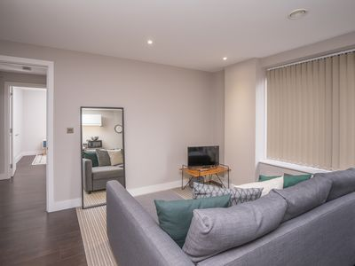 Photo for Spacious comfort apartment - sleeps 4