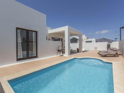 Photo for Modern Luxurious Villa With Private Heated Pool, Air Conditioning
