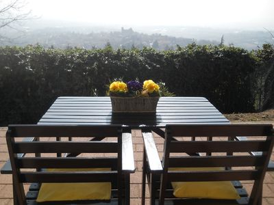 Photo for 10 minutes from Turin, private entrance and private parking