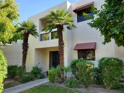 Photo for Stunning first floor private condo in the Canyons of Palm Springs