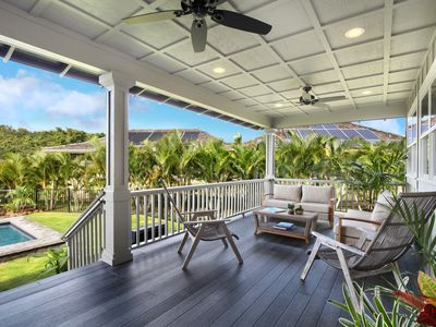Photo for Brand new 5 bedroom Hale Lo'i House w/pool in sunny Poipu!