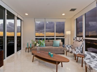 Photo for Modern and luxurious Penthouse - 3 minute walk to the beach & restaurants