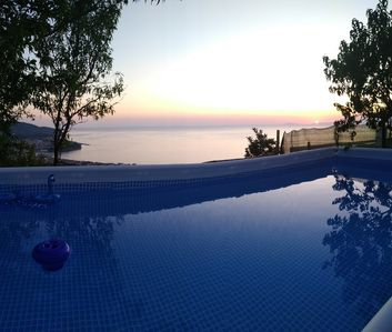 Photo for 🤩WONDERFUL APP. TO WITH POOL AND GARDEN WITH CAPRI VIEW AND AMALFI COAST