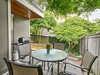 Photo for NEW! Seattle Townhome w/Garden, Patio & Fireplace!