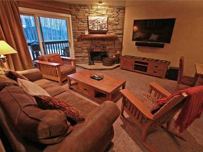 Photo for Snow Flower Condo #102, 2 bedroom 2 bath, sleeps 6, SKI-IN/SKI-OUT to Park City Mountain Resort