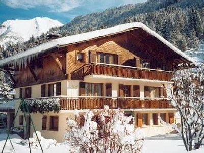 Photo for Apartment completely equipped in Savoyard Chalet, commodities, slopes