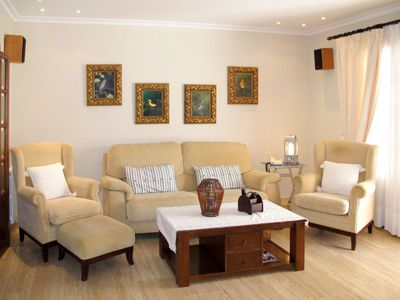 Photo for 3 bedroom Villa, sleeps 6 in Cala Murada with Pool, Air Con and WiFi