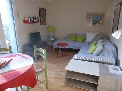 Photo for 4PA72 - Magnificent apartment for 4 in residence with swimming pool and parking