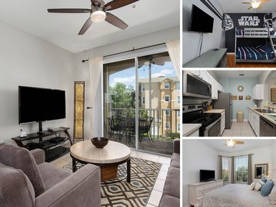 Photo for MVH_001M   Modern 3rd Floor Condo, Only Steps to the Windsor Hills Clubhouse Amenities