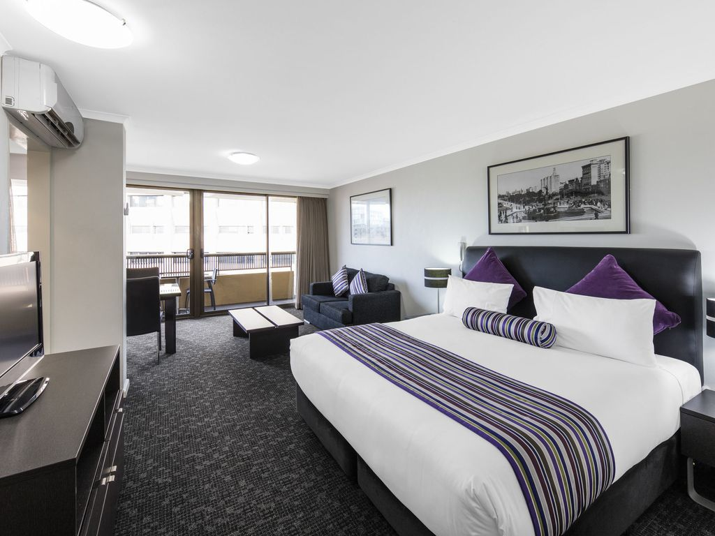 Oaks Hyde Park Plaza Studio Executive Apartment Balmain New South Wales