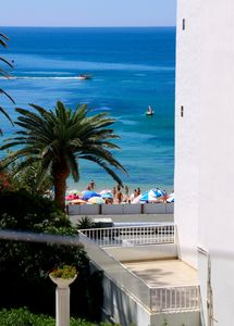 Photo for Casa Azul is a beach front apartment on the beach part of Sea Star Apartments
