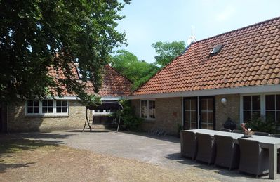 Photo for Farmhouse, 8-12 Pers, relaxation and rest, wheelchair friendly, free WiFi