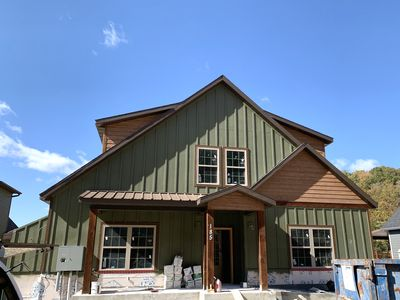 Photo for Mossy Rock Lodge in Chateau Cove! Lakeview! Pool Table, Fire Pit, BRAND NEW!