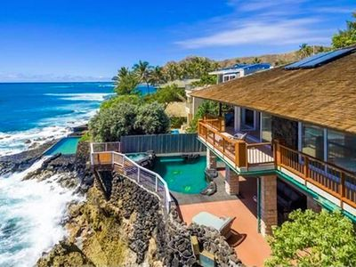Photo for Beautiful Cliffside Home on the ocean in the Prestigious Diamond Head area!!