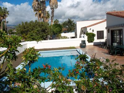 Photo for Spacious 3-Bedroom Villa With Private Heated Pool And Sea/Mountain Views