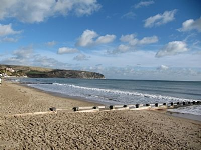 Photo for Swanage. Sunny South facing  ground floor apartment . Own garden.Pet friendly