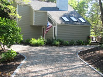 Photo for New Seabury Beautiful Private Home, AC with FABULOUS Outdoor Space! Pet Friendly