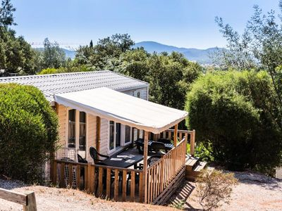 Photo for Camping Le Domaine des Naïades **** - 3-room air-conditioned Villa mobile home 4/6 people