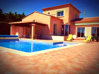 Photo for Villa with heated pool, the Ardeche Gorges
