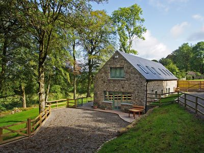 Photo for Semi-detached cottage, a recently renovated barn conversion, in wooded area and quiet rural su…