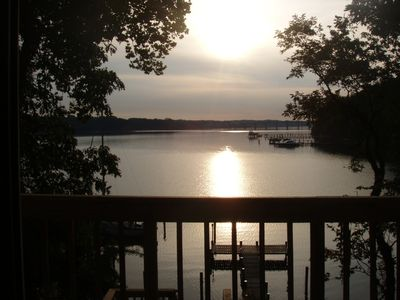 Photo for WATERFRONT COTTAGE ON SEVERN - STUNNING VIEWS - MINUTES FROM DOWNTOWN ANNAPOLIS