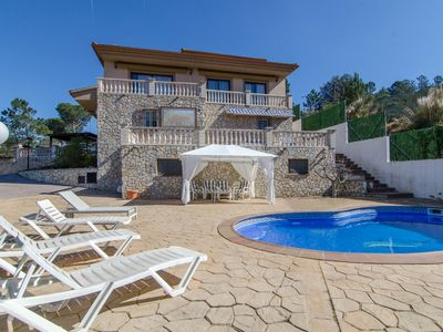 Photo for Club Villamar - Villa with private swimming pool and beautiful view of the Mediterranean Sea