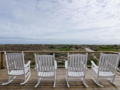 Photo for Traditional oceanfront unit at the center of Wrightsville Beach