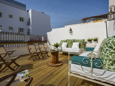 Photo for Beautiful & quiet 2Bd Duplex with Terrace 5 min from the Cathedral. Padre Marchena V