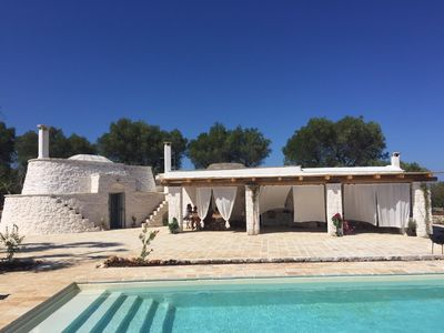 Photo for Luxury Trullo with private pool 3km from Ostuni