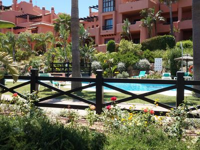 Photo for LUXURY URBANIZATION GOLF, GYM, POOL AND A 7KM FROM THE BEACH