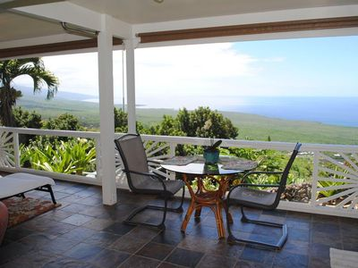 Photo for Bamboo Hideaway - Outstanding Ocean Views. Quiet, close to grocery store & beach