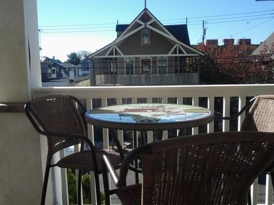 Photo for 2 BR Apt in Beautiful Ocean Grove. Large Private Deck w/ Lake and Ocean View!