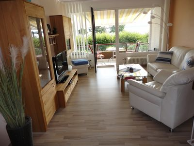 Photo for High-quality apartment with great sea views, on 2 levels, on the beach with a beach chair