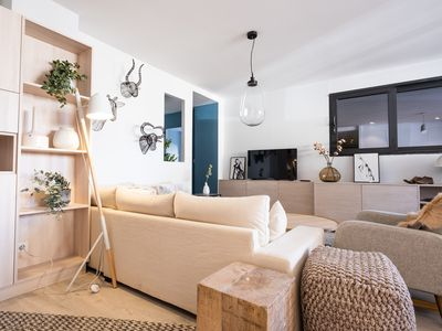 Photo for Apartment with terrace of 12 people in Valloire at the foot of the gondolas