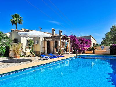 Photo for Vacation home Ave del paraiso  in Jávea, Costa Blanca - 8 persons, 4 bedrooms