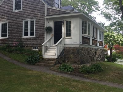 Photo for Charming 2BR just up the hill from York Harbor Beach!