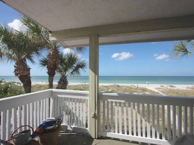 Photo for Vintage Beachfront Charmer, Huge Balcony, W/D, Wi-Fi, Cable, BBQ, Walk to Crabby Bill's-Port Holiday