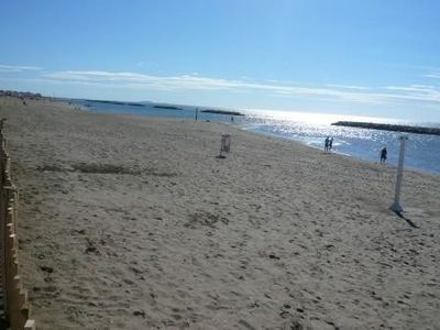 Photo for Large apartment 50m from the supervised beach
