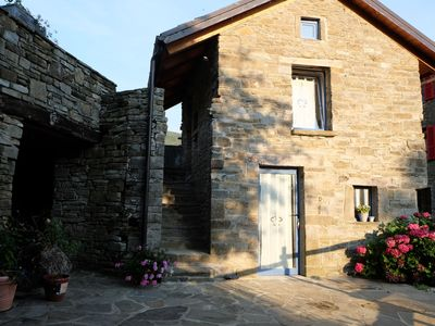Photo for Stone house in the Apennines at 770m altitude, surrounded by nature.