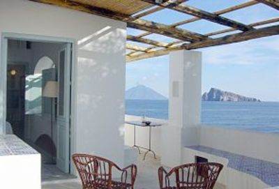 Photo for Panarea- Isole Eolie  OVERLOOKING THE SEA , a little delicious independent house