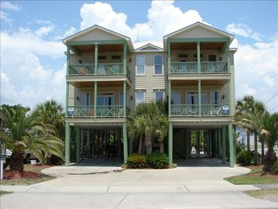 Photo for 'Manatee Mansion'  2nd Row, Private Pool, Great Beach Access!  Very Clean!