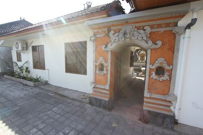 Front covered entry