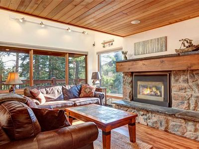 Photo for Ski to your back door! 3 bdrm townhome - 2 car garage, pool/hot tub access!
