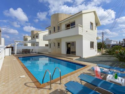 Photo for The Secret to Enjoying Your 5 Star Villa close to the Beach in Paralimni, Villa Paralimni 1018